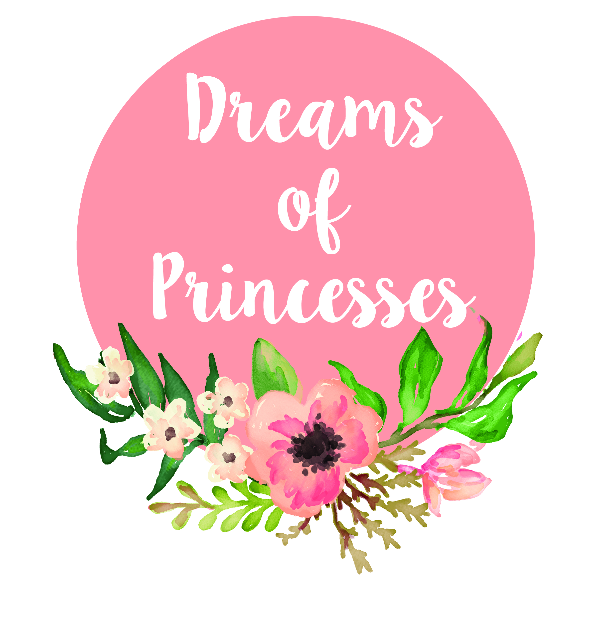 LOGO DREAMS OF PRINCESSES -01